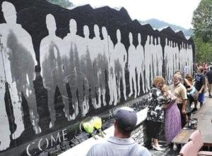 West Virginia Upper Big Branch Coal Miners Memorial