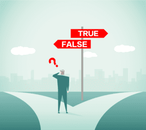 Personal Injury FAQ true false infographic