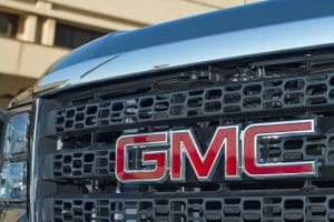 GMC Grill of Truck with Takata Airbag Recall