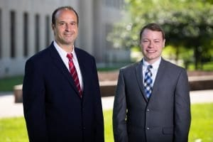 West Virginia truck accident lawyers Brooks West and David Dobson