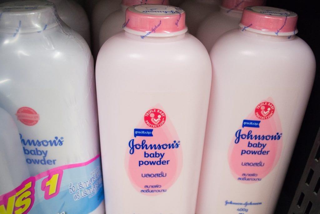 Johnson & Johnson Talc Baby Powder